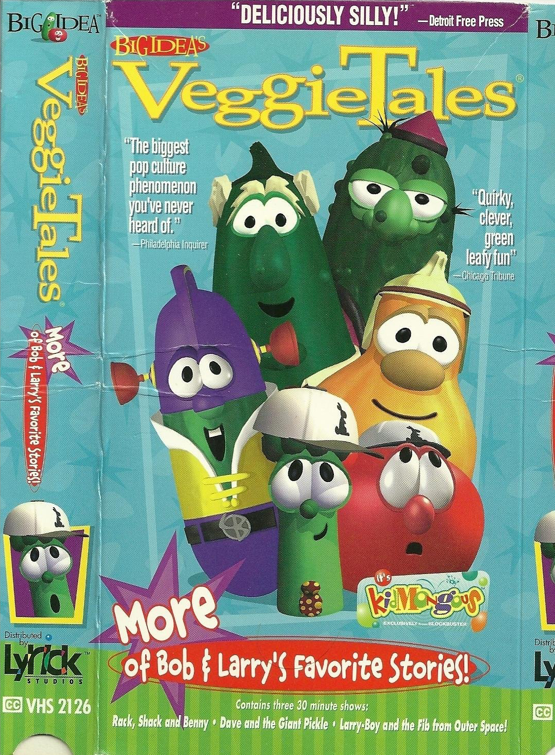 VeggieTales: More of Bob and Larry's Favorite Stories (1998 VHS)