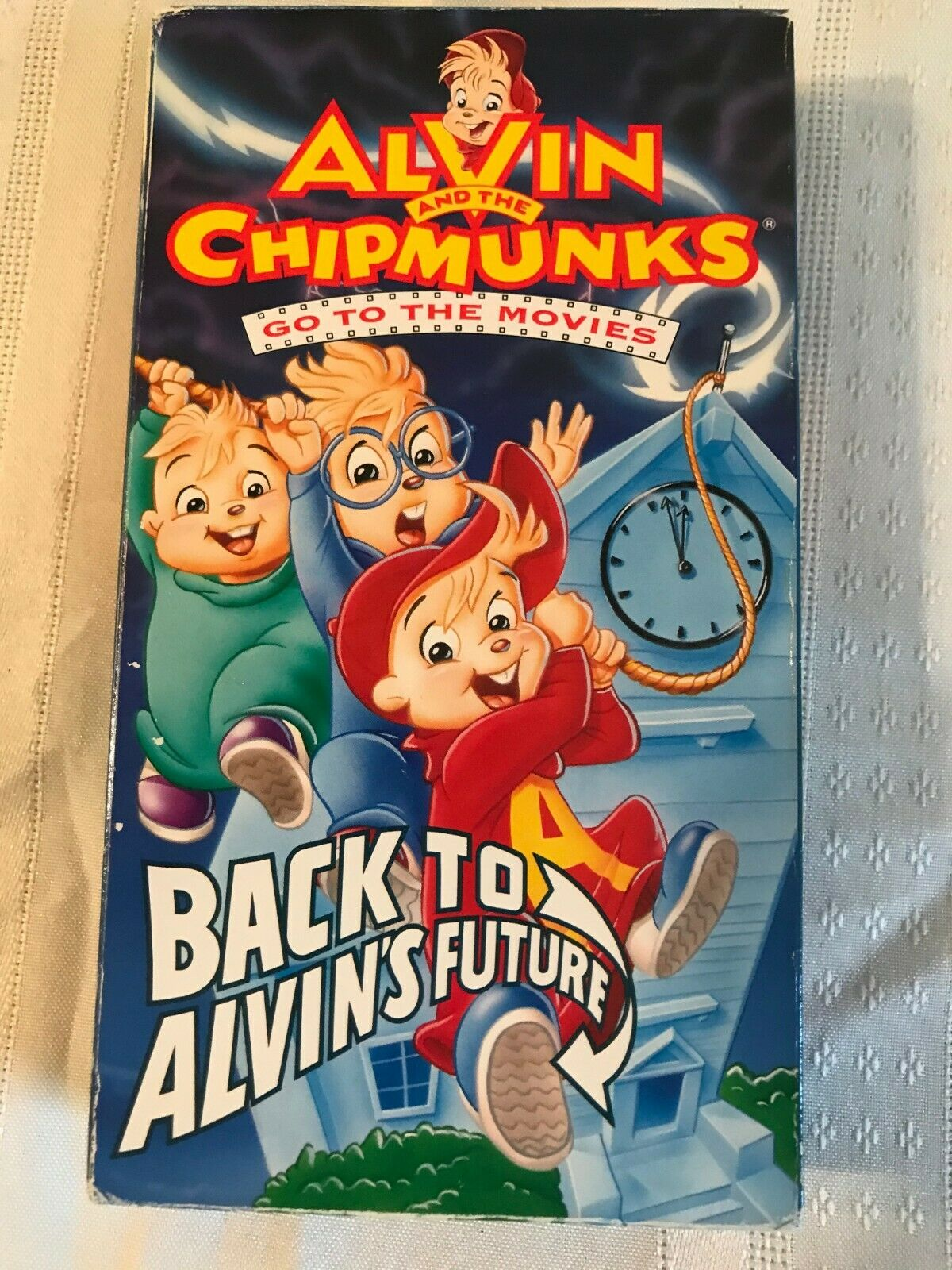 Alvin and the Chipmunks Go to the Movies: Back to Alvin's Future (1992 VHS)