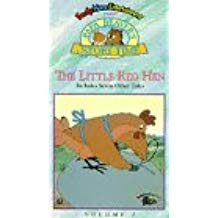 Papa Beaver's Storytime: The Little Red Hen (1995 VHS)