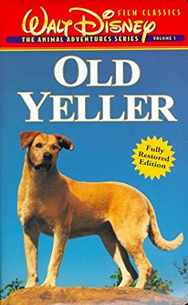 Old Yeller (1997-1998 VHS)