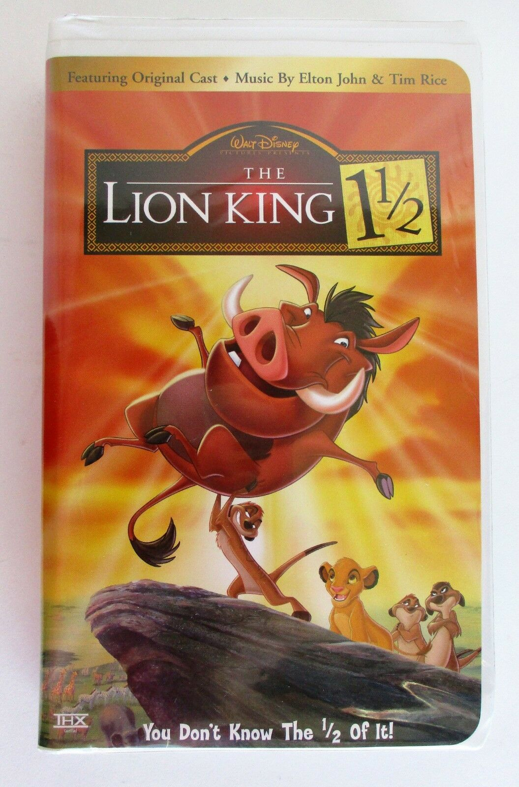 The Lion King 1½ (2004 VHS/DVD)