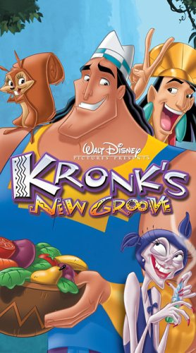 Kronk's New Groove (2005 DVD/VHS)