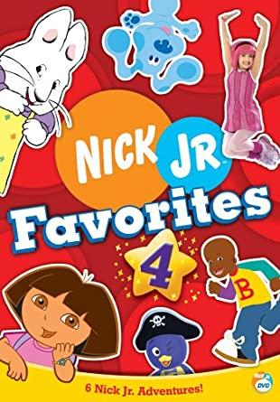 Nick Jr Favorites 4 (2006 DVD)