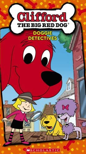 Clifford The Big Red Dog Doggie Detectives (2005 VHS)