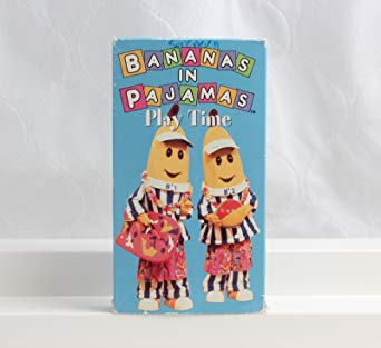 Bananas in Pajamas: Play Time (1997 VHS)