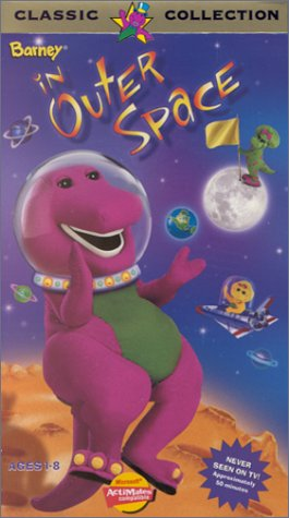 Barney in Outer Space (1998 VHS)