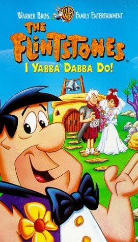 The Flintstones: I Yabba-Dabba Do! (1997-2000 VHS)