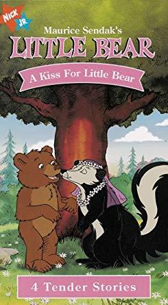 Little Bear: A Kiss for Little Bear (2000 VHS)