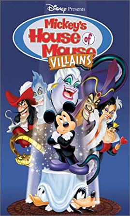 Mickey's House of Villains (2002 DVD/VHS)