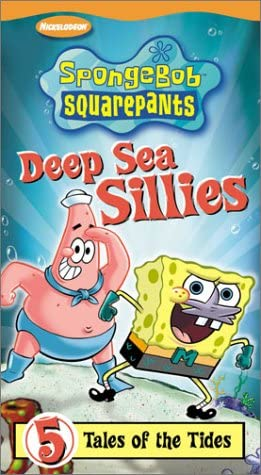 SpongeBob SquarePants: Deep Sea Sillies (2003 VHS)