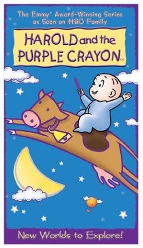 Harold and the Purple Crayon: New Worlds to Explore (2004 VHS)