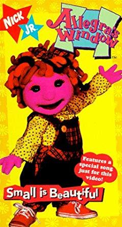 Allegra's Window: Small is Beautiful (1996 VHS)