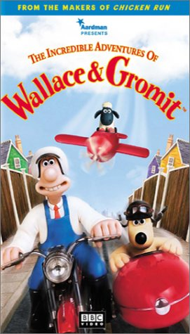 The Incredible Adventures of Wallace & Gromit (2000 VHS)