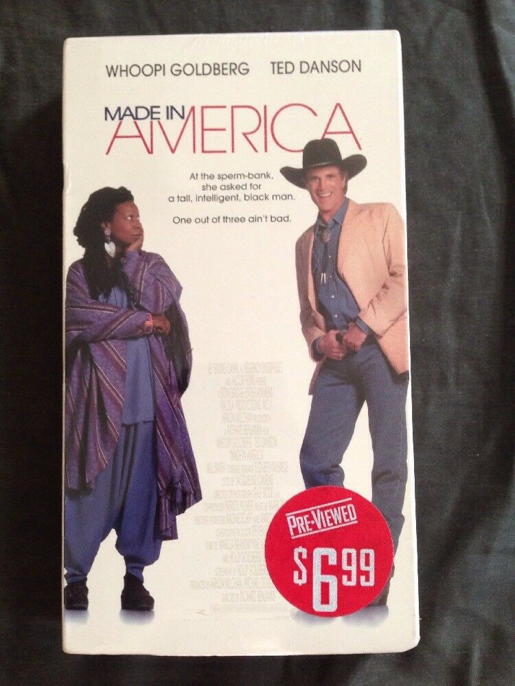 Made in America (1993 VHS)