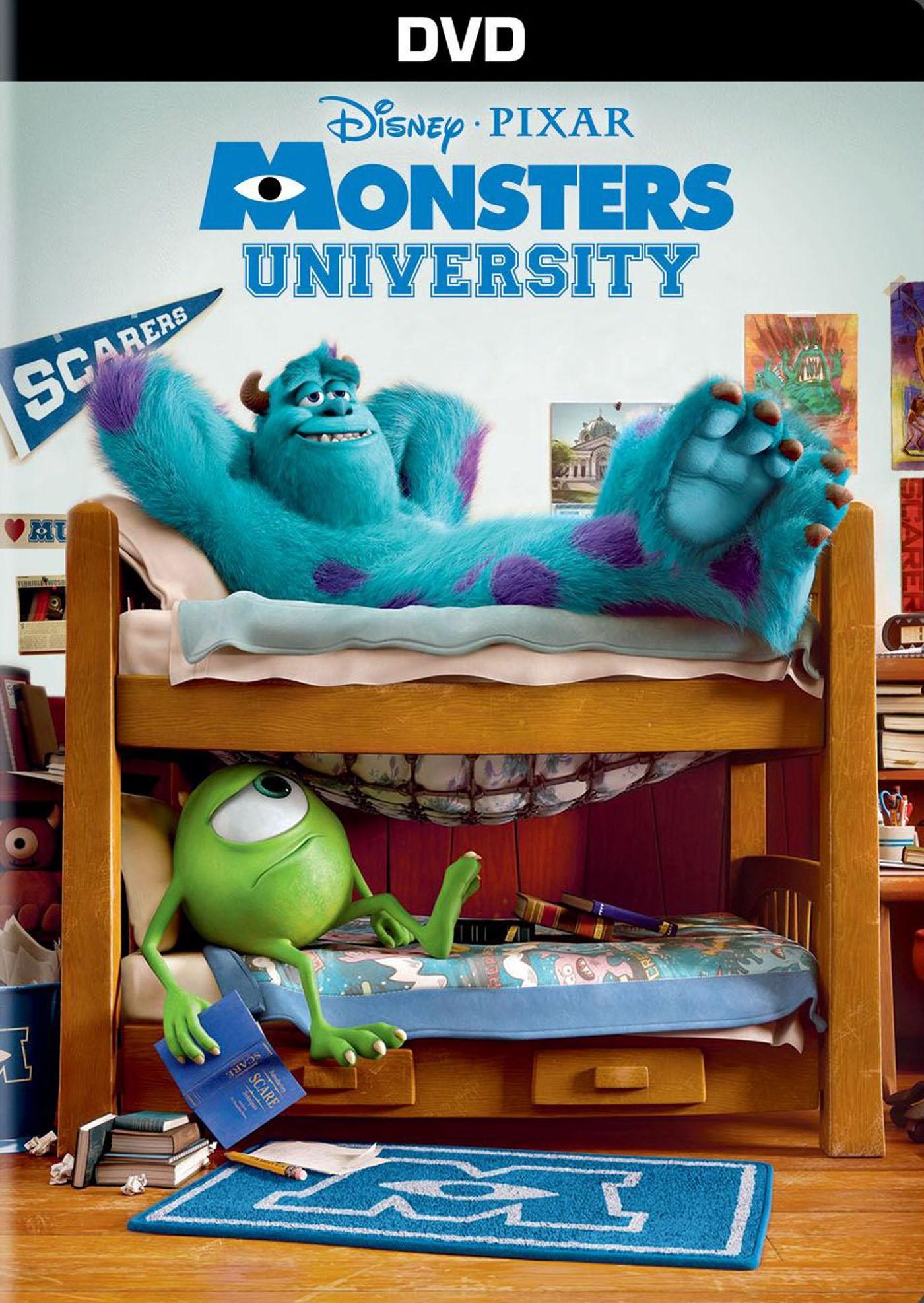 Monsters University (2013 DVD)
