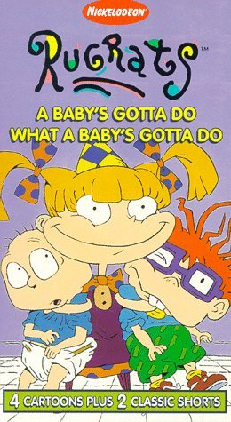 Rugrats: A Baby's Gotta Do, What A Baby's Gotta Do! (1996 VHS)