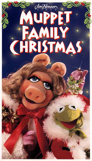 A Muppet Family Christmas (1995 VHS)