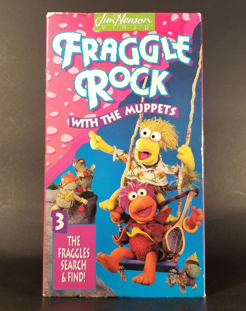 Fraggle Rock Vol. 3 The Fraggles Search and Find (1993 VHS)
