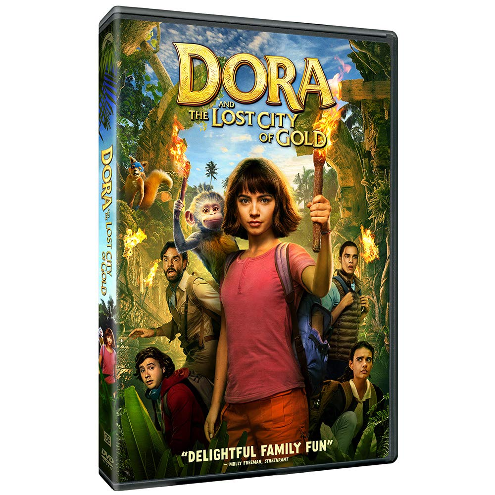 Dora and the Lost City of Gold (2019 DVD)