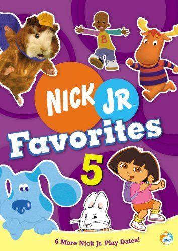 Nick Jr Favorites 5 (2007 DVD)