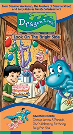 Dragon Tales: Look on the Bright Side! (2002 VHS)