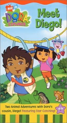 Dora the Explorer: Meet Diego! (2003 VHS)