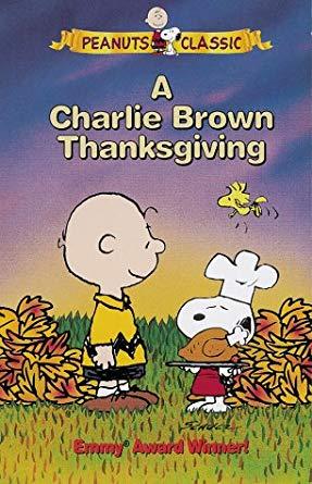 A Charlie Brown Thanksgiving (VHS)