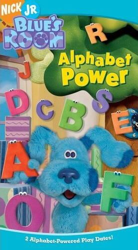 Blue's Room: Alphabet Power! (2005 VHS)