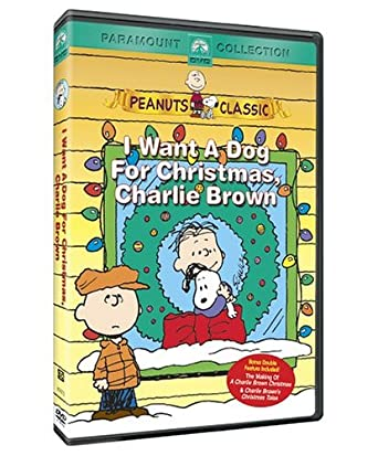 Peanuts: I Want a Dog Christmas Charlie Brown (2004 DVD)