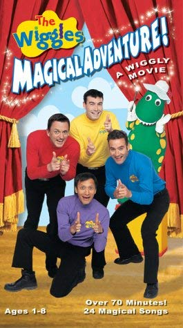 The Wiggles: Magical Adventure! A Wiggly Movie (2003 VHS)