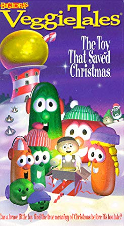 VeggieTales: The Toy That Saved Christmas (1998-2001 VHS)