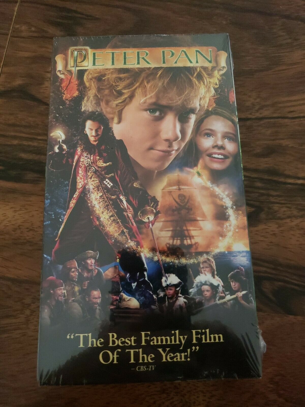 Peter Pan (Live Action) (2004 VHS)