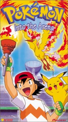 Pokemon Into the Arena (2000 VHS)
