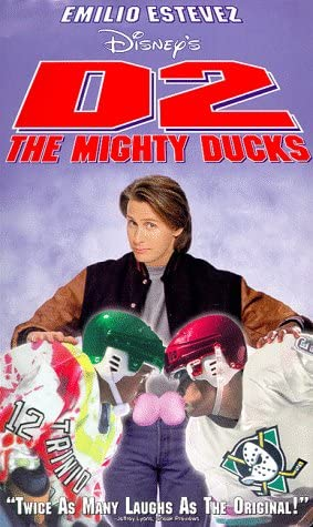 D2: The Mighty Ducks (1994 VHS)