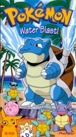 Pokemon Water Blast! (2000 VHS)
