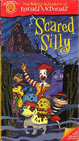 The Wacky Adventures of Ronald McDonald: Scared Silly (1998 VHS)