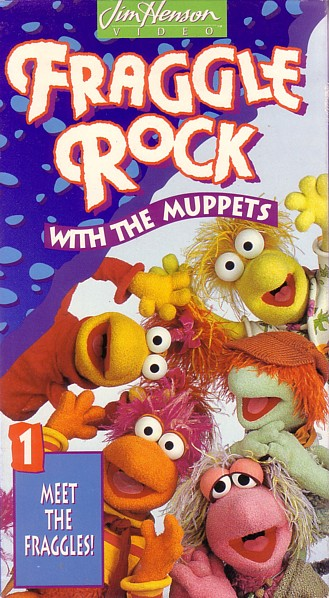 Fraggle Rock Vol. 1 Meet The Fraggles (1993 VHS)