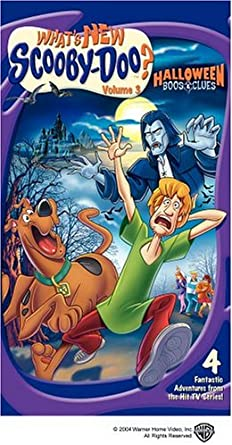 What's New Scooby-Doo?: Volume 3 Halloween Boos and Clues (2004 VHS)