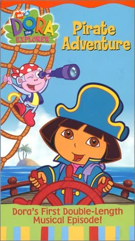 Dora the Explorer: Pirate Adventure (2004 VHS)