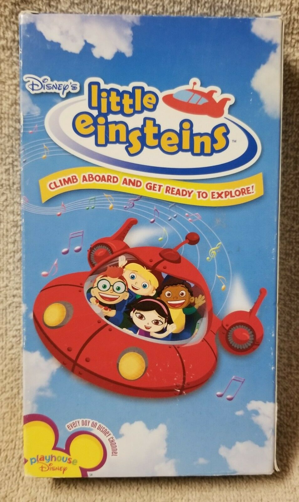 Little Einsteins: Climb Aboard and Get Ready to Explore (2005 VHS)