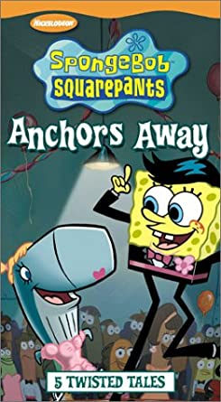 SpongeBob SquarePants: Anchors Away (2003 VHS)