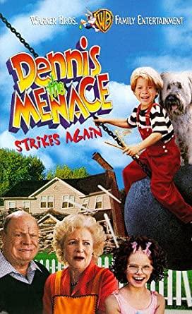 Dennis the Menace Strikes Again (1998-2000 VHS)