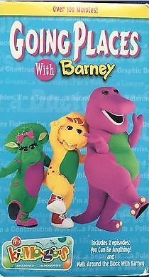 Barney: Going Places With Barney (2002 VHS)