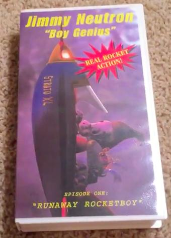 Jimmy Neutron Boy Genius: Runaway Rocketboy! (1998 VHS)
