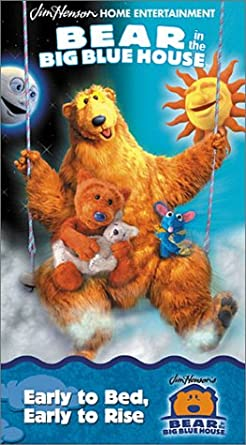 Bear in the Big Blue House: Early to Bed, Early to Rise (2001 VHS)