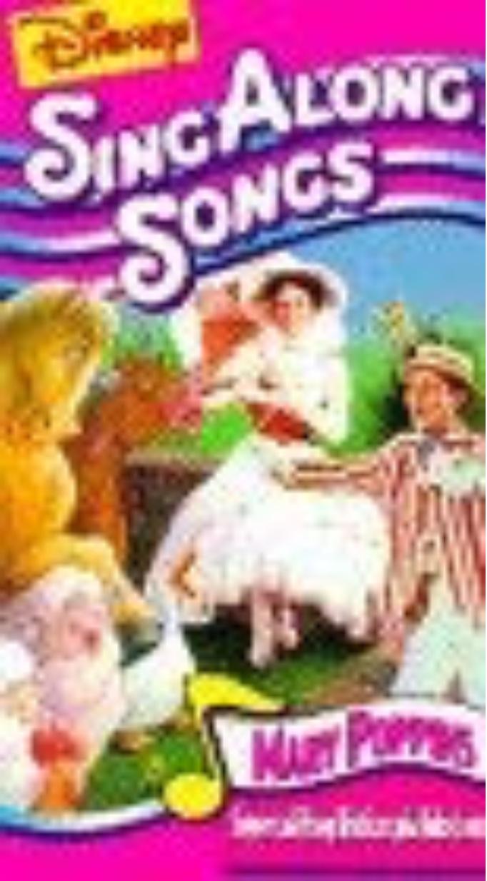 Disney's Sing-Along Songs: Supercalifragilisticexpialidocious (1991-1994 VHS)