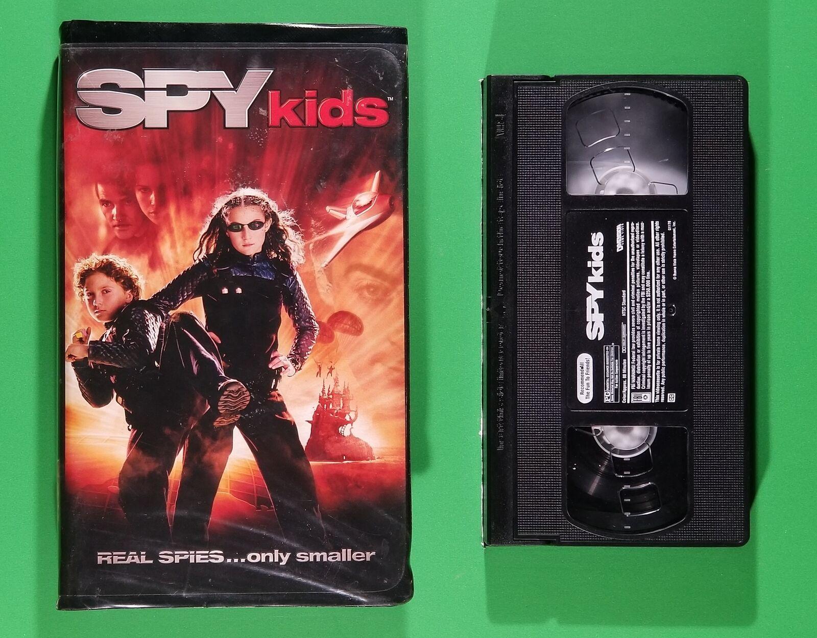 Spy Kids (2001 VHS/DVD)