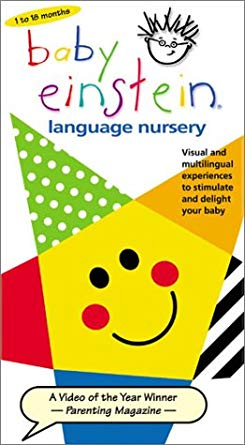 Baby Einstein Language Nursery (1997-2004 VHS)
