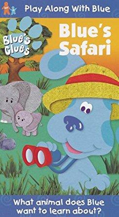 Blue's Clues: Blue's Safari (1999/2000 VHS)