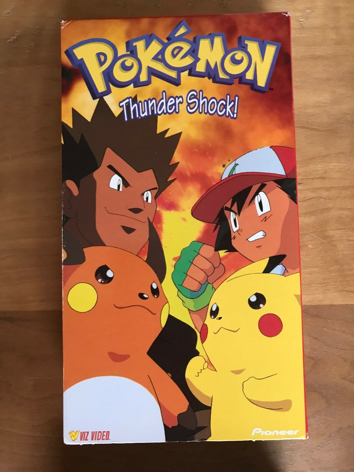 Pokemon Thunder Shock! (1999 VHS)